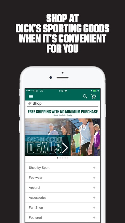 DICK'S Sporting Goods, Fitness screenshot-3