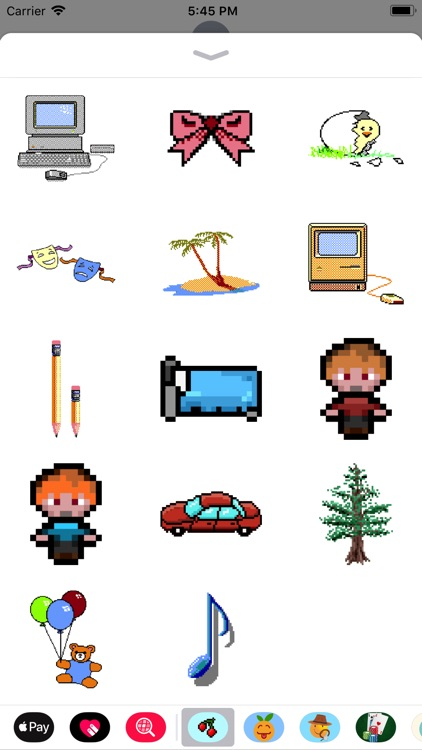 8Bit Pixel Video Game Stickers screenshot-3