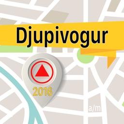Djupivogur Offline Map Navigator and Guide