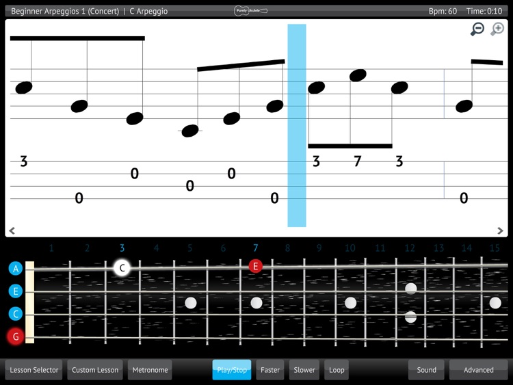 Learn & Practice Ukulele Music Lessons Exercises screenshot-3
