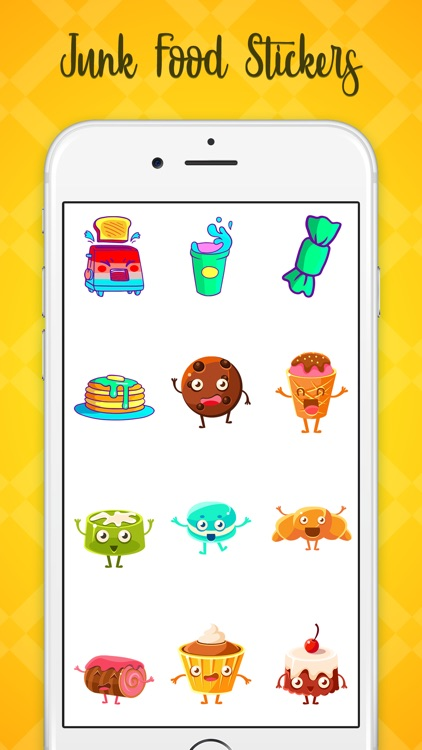 Junk Food Stickers! screenshot-3