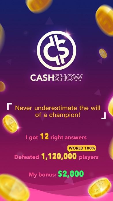 download Cash Show - Win Real Cash! apps 0