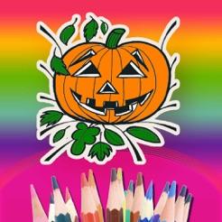 Halloween Malbuch für Kinder zu zeichnen