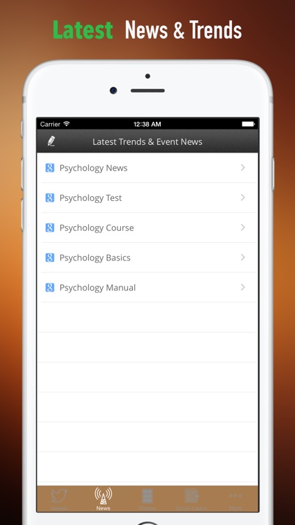 Psychology 101:Basics and Top News screenshot-3