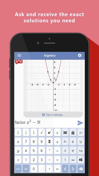 Mathway - Math Problem Solver screenshot-4
