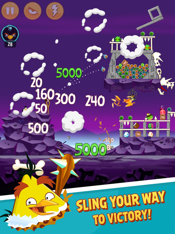 Angry Birds Classic HD Screenshots