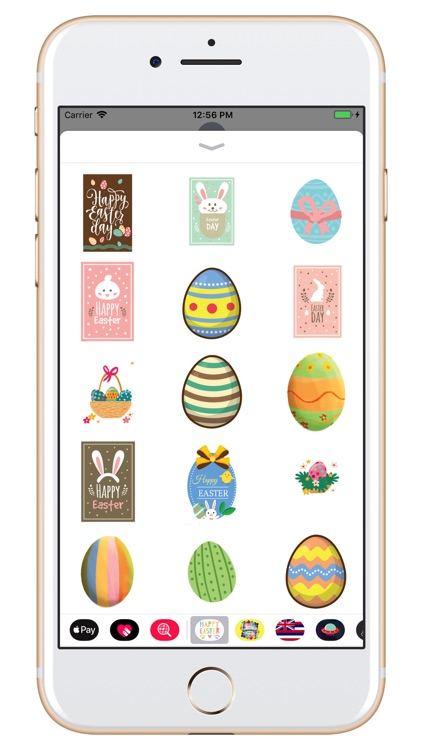 Happy Easter Day - stickers