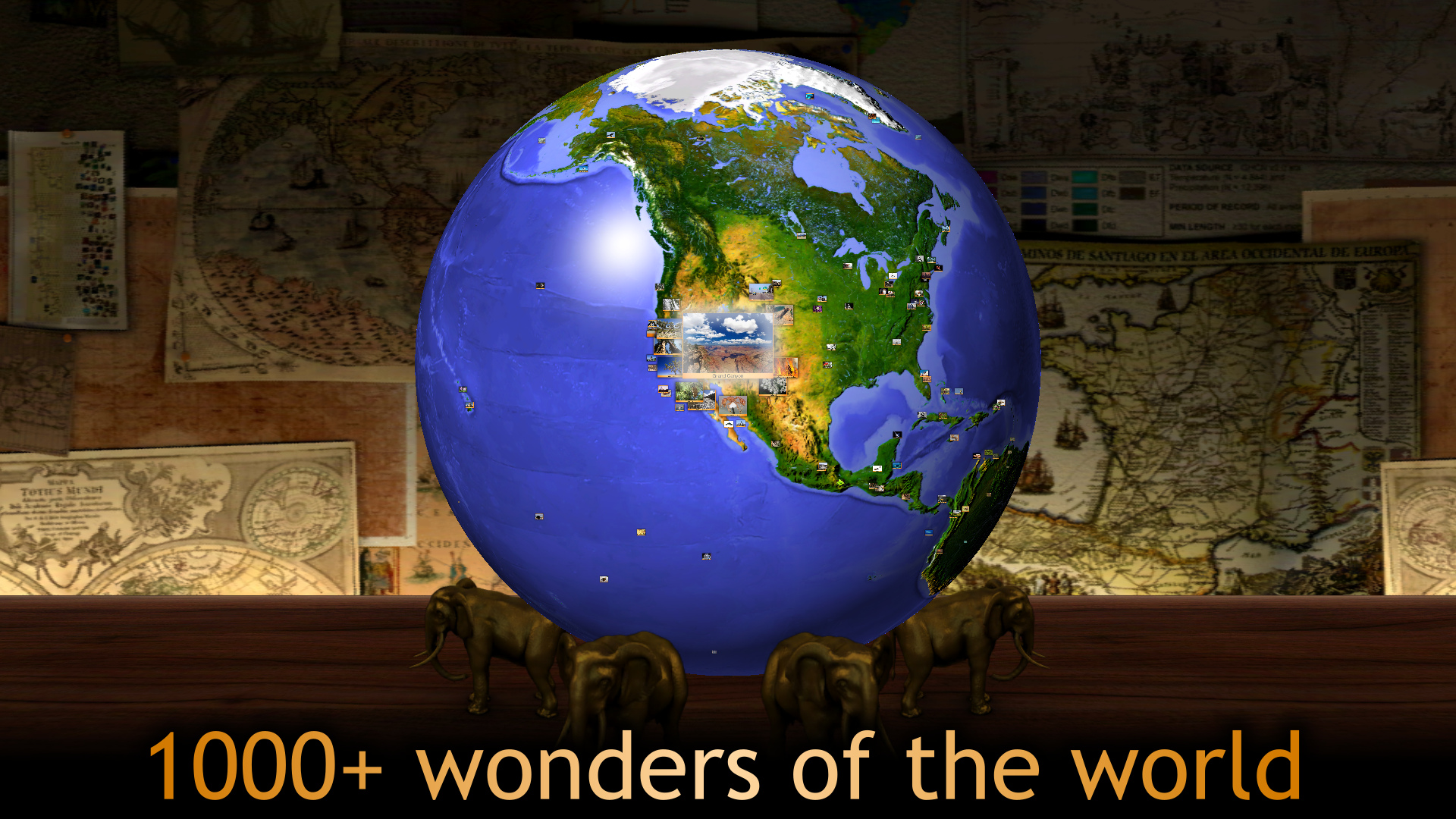Geo Walk - World Factbook 3D screenshot 11