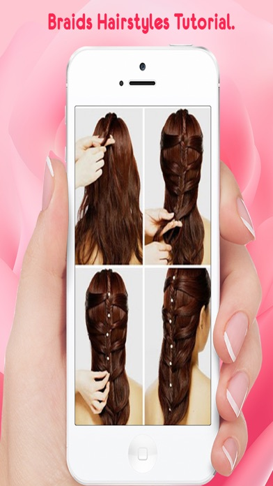 Hairstyle Steps For Girls screenshot two