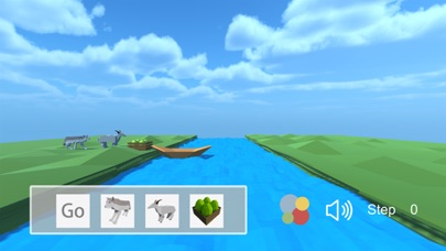 Crossing the river -A casual strategy game screenshot one