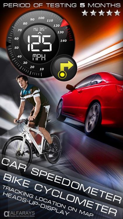 Speedometer+ G12 (Car, Bike speedometer)