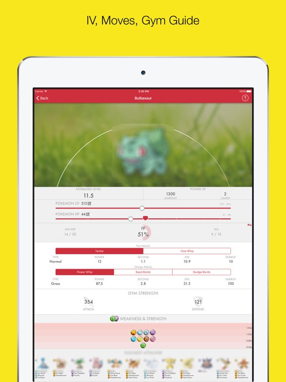 MyPoke-Pokedex Guide, Calculator for Pokemon Go | App Price Drops