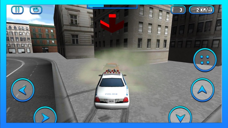 City Police Car Driver Simulator – 3D Cop Chase screenshot-4