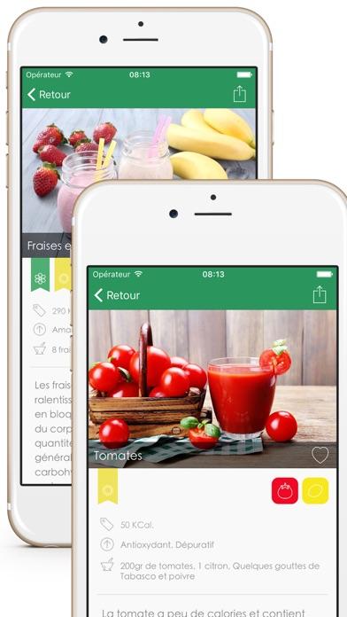 Centrifugo, Recettes pour Jus de Fruits et Légumes