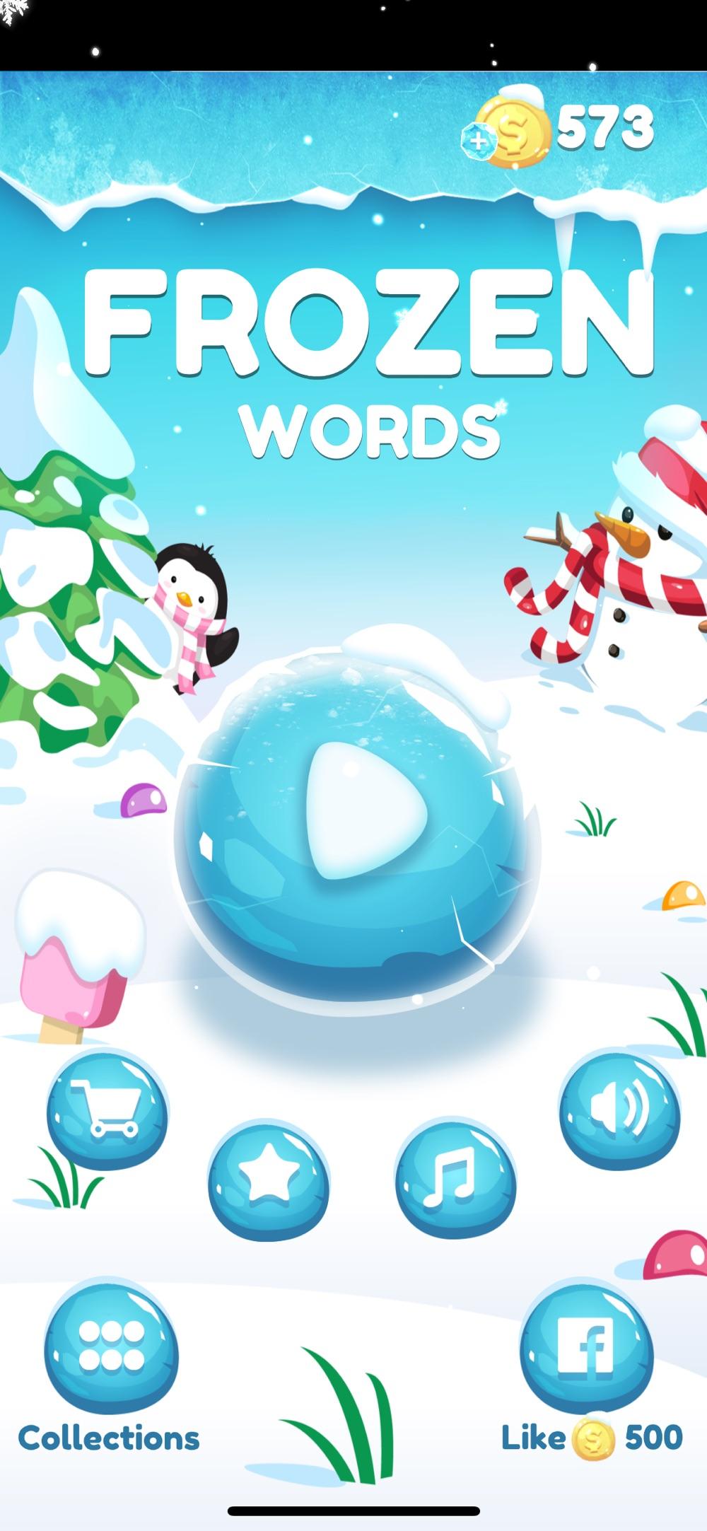 Frozen Words - Word Crossy hack tool