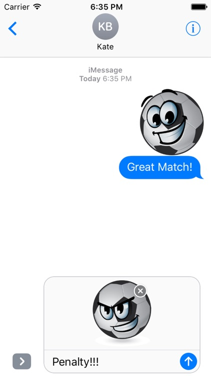 BallMoji - Soccer Stickers Football screenshot-3