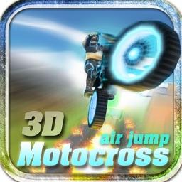 3D MotoCross Air Jump Neon Bike Crazy Free