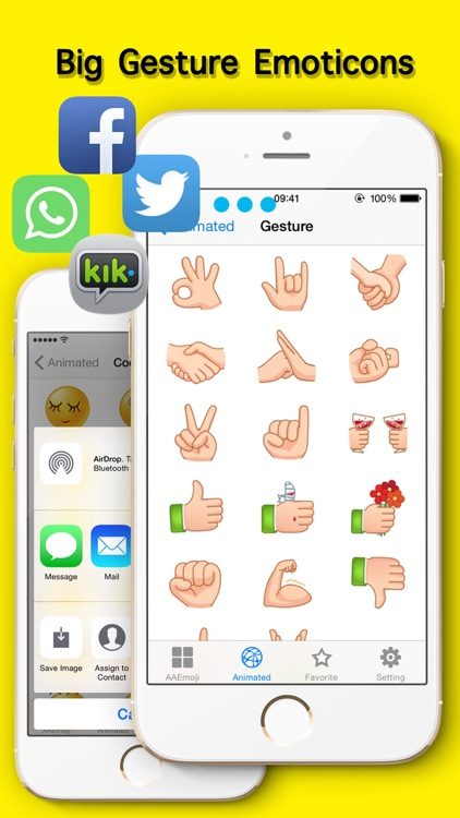 New Emojis & Smileys animated text icons emoticons screenshot-4