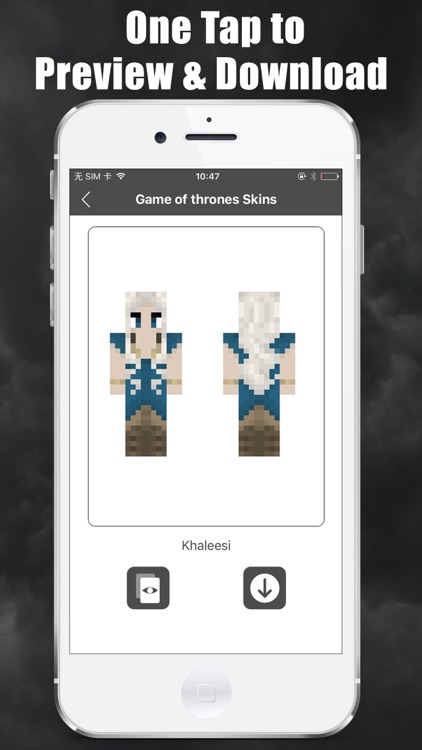 Skins Free for Minecraft - Game of Thrones edition