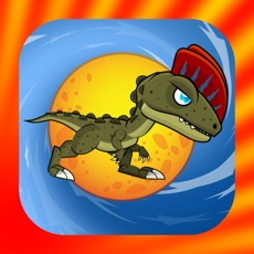 Activities of Dinosaur Run And Jump - On The Candy Circle Ball Games For Free