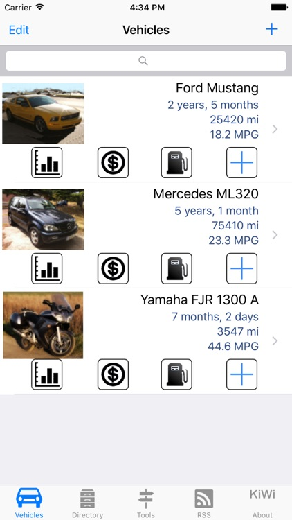 Car Manager LITE: your Car or Bike, in your pocket !