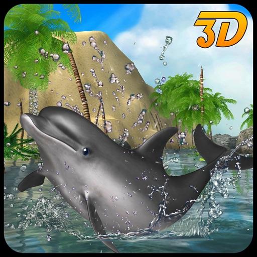 Дельфин симулятор 3D - Подводные Рыба Моделирование игры