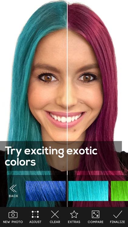 Hair Color Premium screenshot-3