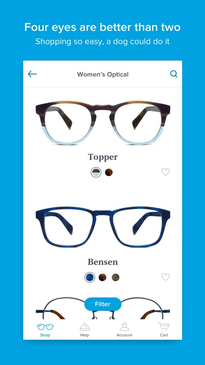 Glasses by Warby Parker