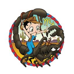 Betty Boop - Zodiac Signs Stickers