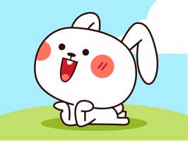Cool Rabbit Animated Stickers for iMessenger