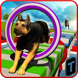 Stunt Dog Simulator 3D