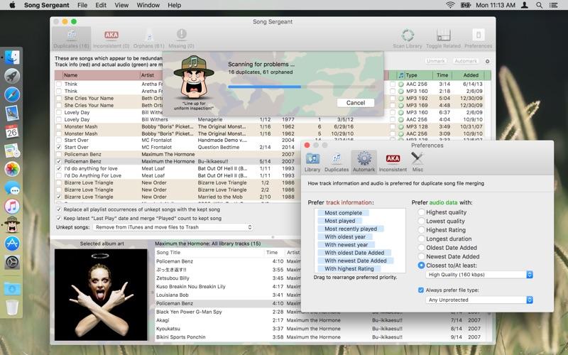 Song Sergeant Screenshot