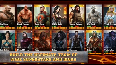 WWE Immortals Screenshot on iOS