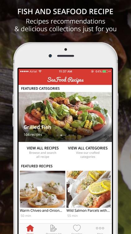 Fish & SeaFood Recipe Premium - cook & learn guide