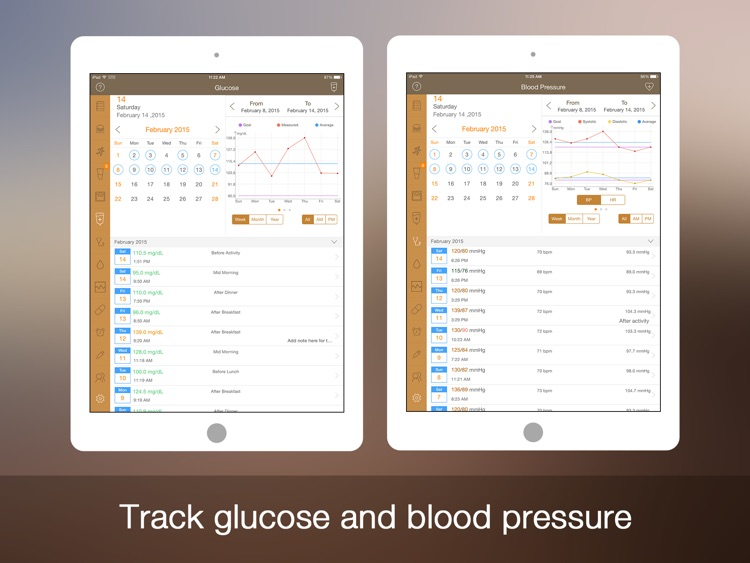 Daily Carb for iPad - Glucose Control and Tracker screenshot-3