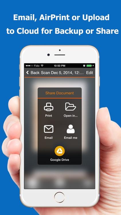 TopScanner : PDF Scanner App screenshot-4