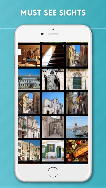 Bari Travel Guide with Offline City Street Map screenshot-3