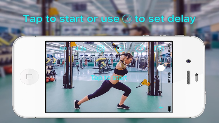Video Delay With Slow Motion Sport Fit Camera Pro screenshot-0