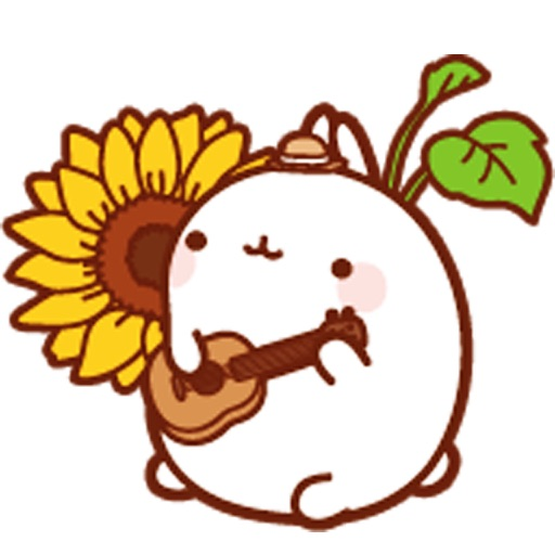 Molang Rabbit - Emoji - Emoticons - Stickers