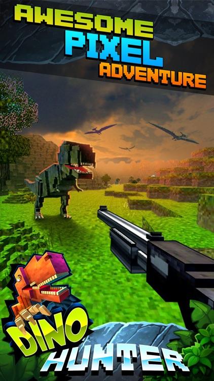 Wild Dino-saur Hunt-ing Survival Pixel screenshot-4