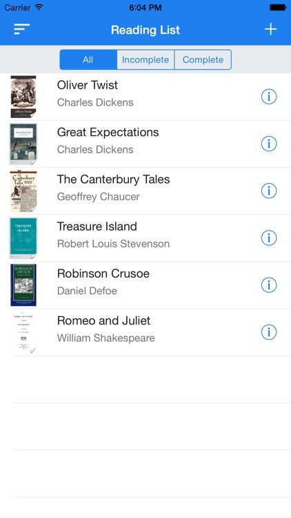 Reading List - Track your reading