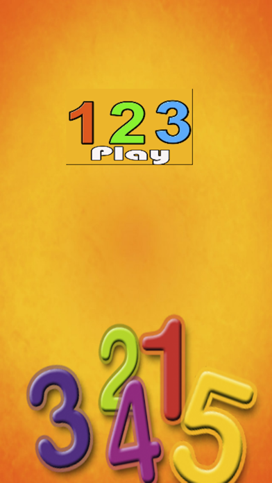 Kids Math Learning With 123 Number Counting Flash Cards-vocal Memory Game Screenshot on iOS
