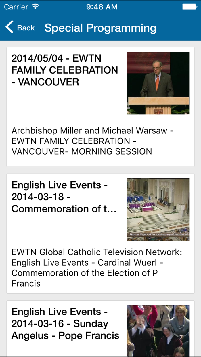 EWTN Screenshot
