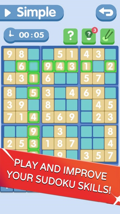 Sudoku!Level Brain screenshot 1