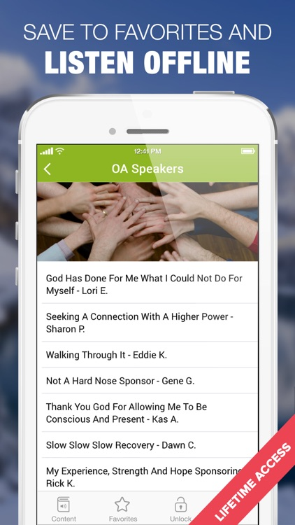 Overeaters Anonymous Speaker Tapes OA Meetings