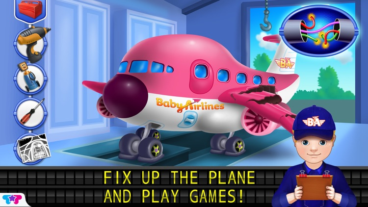 Baby Airlines - Airport Adventures screenshot-3