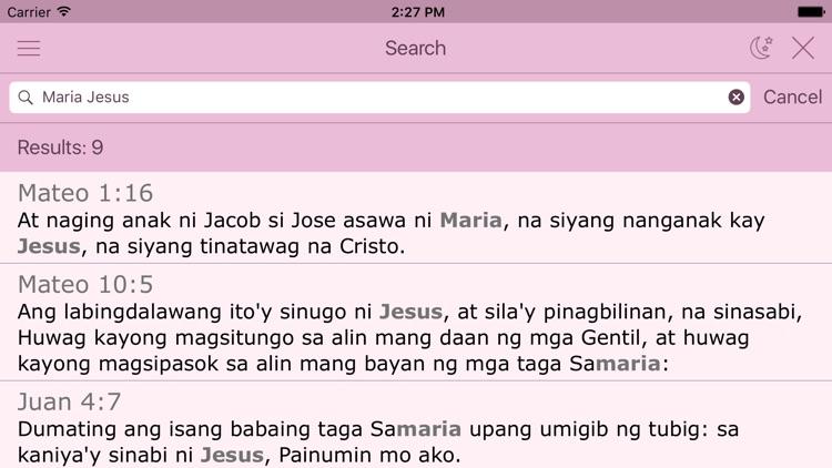 Tagalog Women's Bible - Ang Biblia for Woman screenshot-3