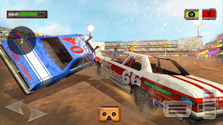 VR Demolition Derby Xtreme Racing screenshot-3