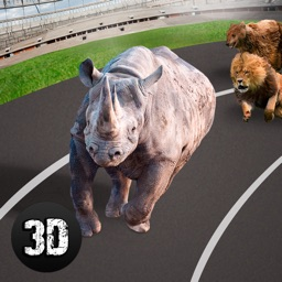 Wild Animal Racing Challenge 3D Full