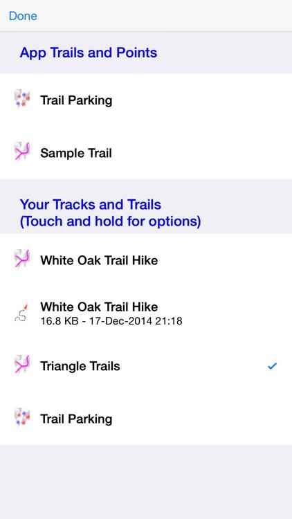 Make My Trail screenshot-4